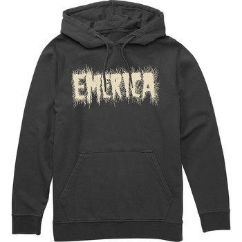 Vêtements Homme Sweats Emerica SCANNER HOODED FLEECE BLACK