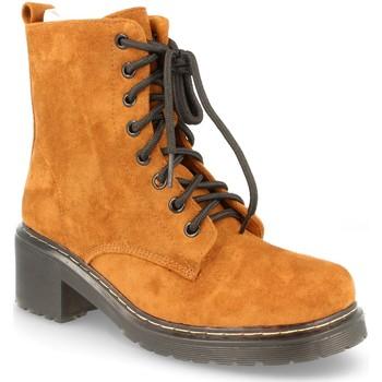 Chaussures Femme Bottes ville Buonarotti 2AD-9432 CAMEL