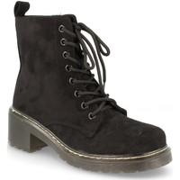 Chaussures Femme Bottines Buonarotti 2AD-9432 Negro