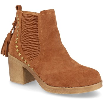 Chaussures Femme Bottines H&d YZ19-19 Camel