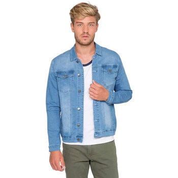 Vêtements Homme Vestes en jean Waxx Veste Joggjean SOHO Bleu