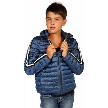 Vêtements Garçon Doudounes Waxx Doudoune Garçon STRIPES Bleu Nuit