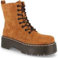 Chaussures Femme Boots Buonarotti 2AD-9353 Camel