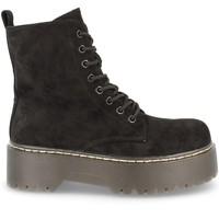 Chaussures Femme Boots Buonarotti 2AD-9353 Negro