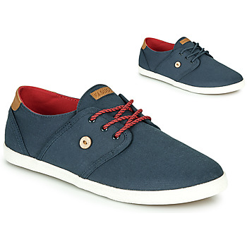 Chaussures Baskets basses Faguo CYPRESS Bleu / Marron / Rouge