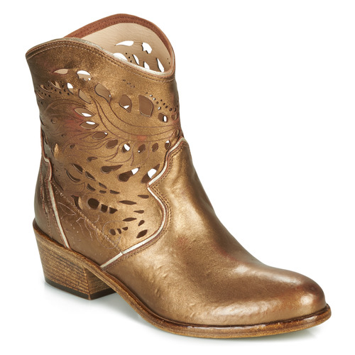 Chaussures Femme Bottines Fru.it COWGOLD Bronze