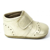 Chaussures Fille Chaussons Bisgaard Chaussons cuir or