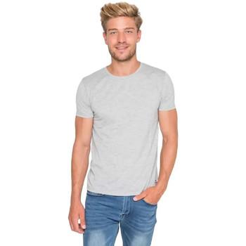 Vêtements Homme T-shirts manches courtes Waxx T-shirt  coton Gris