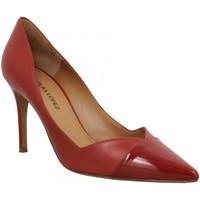 Chaussures Femme Escarpins Pura Lopez AP127 cuir Femme Rouge Rouge