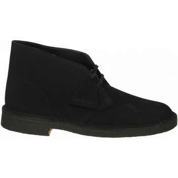 Chaussures Homme Boots Clarks DESERT BOOT M black