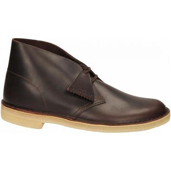 Chaussures Homme Boots Clarks DESERT BOOT M chestnut