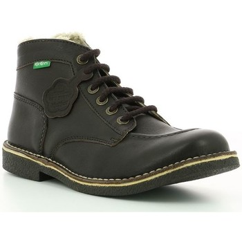 Chaussures Homme Boots Kickers Kickstoner MARRON FONCE