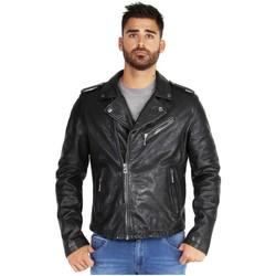 Vêtements Homme Vestes en cuir / synthétiques Daytona Blouson  Golberg cuir ref_46926 Noir noir