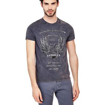 T-shirt Guess T-Shirt Homme LBTMF Bleu