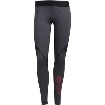Vêtements Femme Leggings adidas Originals Tight Alphaskin Badge of Sport noir / bleu / rose