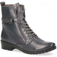 Chaussures Femme Boots Caprice Bottine Plate Grise Gris