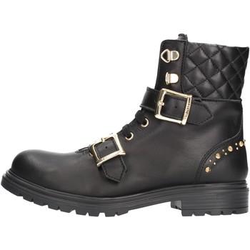 Chaussures Garçon Boots Twin Set - Anfibio nero 192GCJ01A NERO