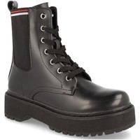 Chaussures Femme Boots Benini 7668-PA Negro