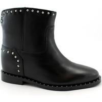 Chaussures Femme Boots Café Noir CAF-I19-GB133-NE Nero