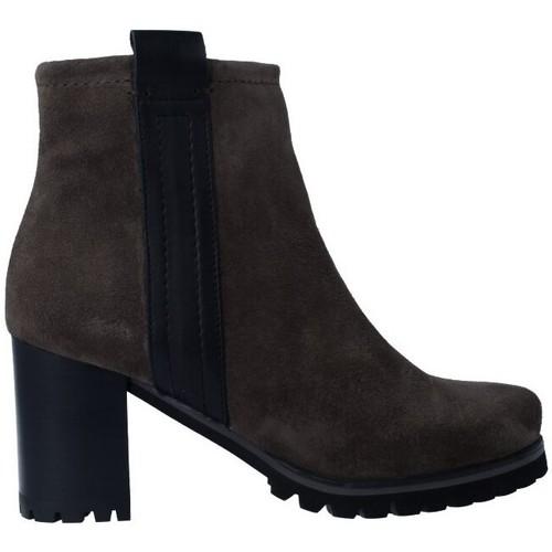 Chaussures Femme Bottines Pedro Miralles 25841 Botines de Mujer Gris