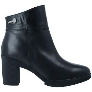 Chaussures Femme Bottines Wonders M-3731 Botines Dry de Mujer Noir