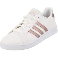 Chaussures Fille Baskets basses adidas Originals Granvl court 2.0 k junior Blanc