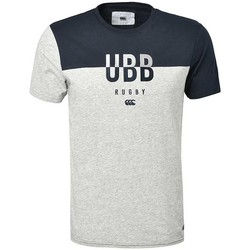 Vêtements Homme T-shirts & Polos Canterbury Tee Shirt rugby Union Bordeaux Gris