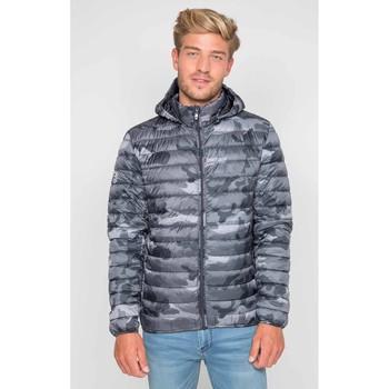 Vêtements Homme Doudounes Waxx Doudoune Homme NEWCAMO Camouflage Gris