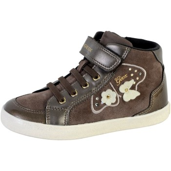 Chaussures Femme Baskets montantes Geox Baskets  Fille Kilwi Gris