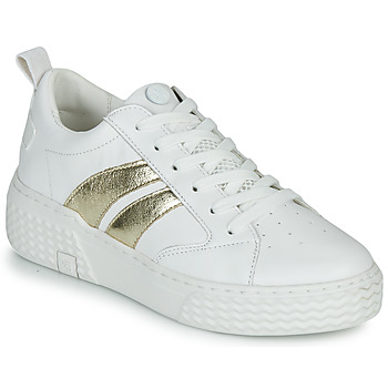 Chaussures Femme Baskets basses Palladium Ego 03 Lea Blanc / Or