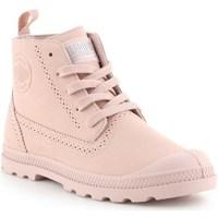 Chaussures Femme Boots Palladium Manufacture Pampa Ldn LP Rose