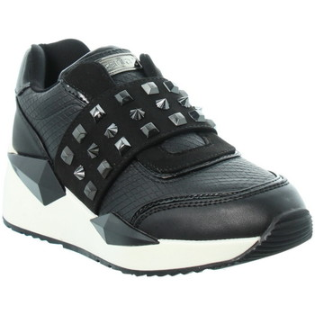 Chaussures Guess Baskets ref_47182 Black