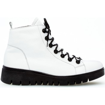 Chaussures Femme Boots Gabor Baskets montantes Blanc