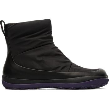 Chaussures Femme Bottines Camper Peu pista K400409-001 Bottes Femme noir
