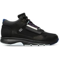 Chaussures Femme Baskets basses Camper Baskets à lacets cuir Drift noir