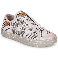 Chaussures Fille Baskets basses Geox J KILWI GIRL Rose / Noire