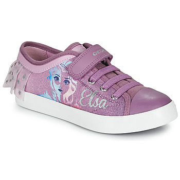 Chaussures Fille Baskets basses Geox JR CIAK GIRL Violet