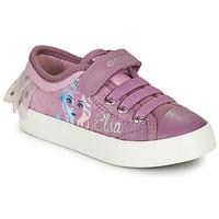 Chaussures Fille Baskets basses Geox JR CIAK GIRL Violet
