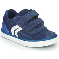 Chaussures Garçon Baskets basses Geox B KILWI BOY Bleu / Blanc