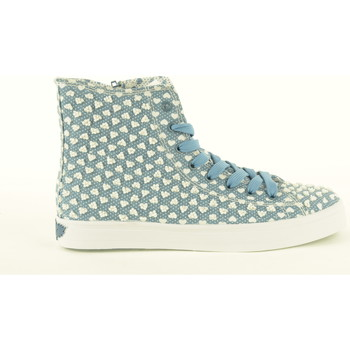 Chaussures Femme Baskets montantes Lelli Kelly  Azzurro a fantasia