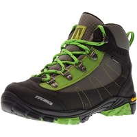 Chaussures Fille Baskets montantes Tecnica  Antracite / Lime