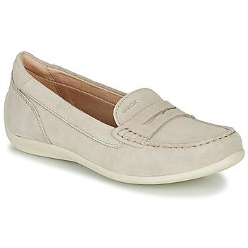 Chaussures Femme Mocassins Geox D YUKI Beige