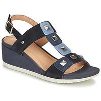 Chaussures Femme Sandales et Nu-pieds Geox D ISCHIA Bleu