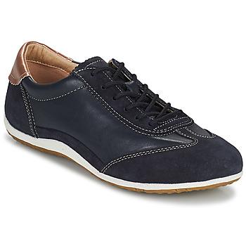 Chaussures Femme Baskets basses Geox D VEGA Marine