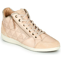 Chaussures Femme Baskets montantes Geox D MYRIA Beige