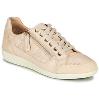 Chaussures Femme Baskets basses Geox D MYRIA Nude / Beige