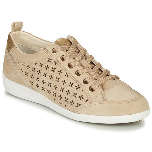 Chaussures Femme Baskets basses Geox D MYRIA Beige