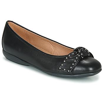 Chaussures Femme Ballerines / babies Geox D ANNYTAH Noir
