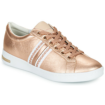 Chaussures Femme Baskets basses Geox D JAYSEN Rose / Blanc