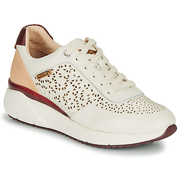Chaussures Femme Baskets basses Pikolinos SELLA W6Z Blanc / Bordeaux